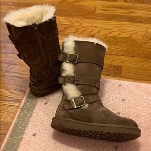 Ugg winter boots, perfect condition, girl 12